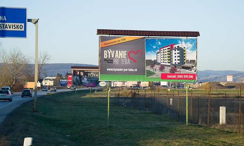 billboard - Bývanie pre teba