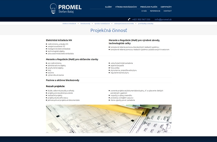 web - promel.sk