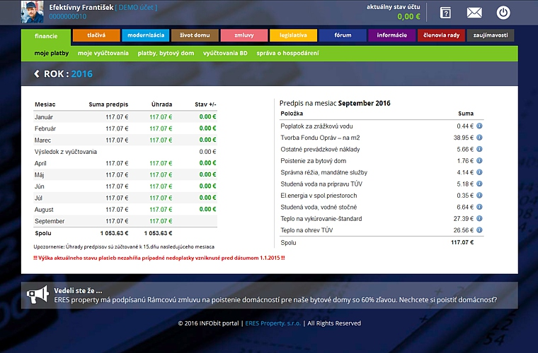 informačný portál INFOBit