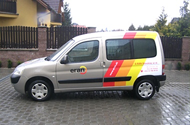 reklamný polep auta - Citroen Berlingo