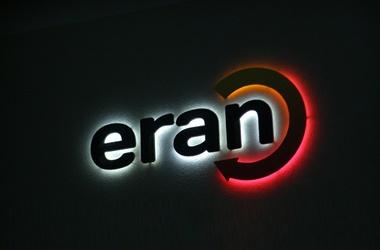 plastické logo s LED podsvietením