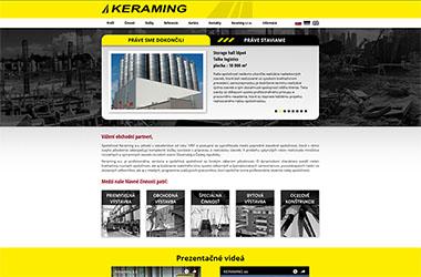 web - keraming.sk